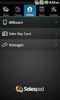 Screenshot of Salespod - Agile Field Sales