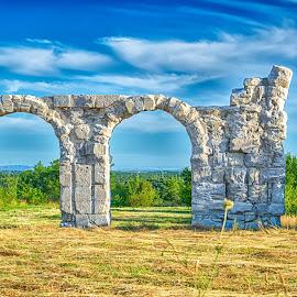 Burnum by Maja Stojkovic - Buildings & Architecture Statues & Monuments ( arhitecture, burnum, monument, historical, roman )