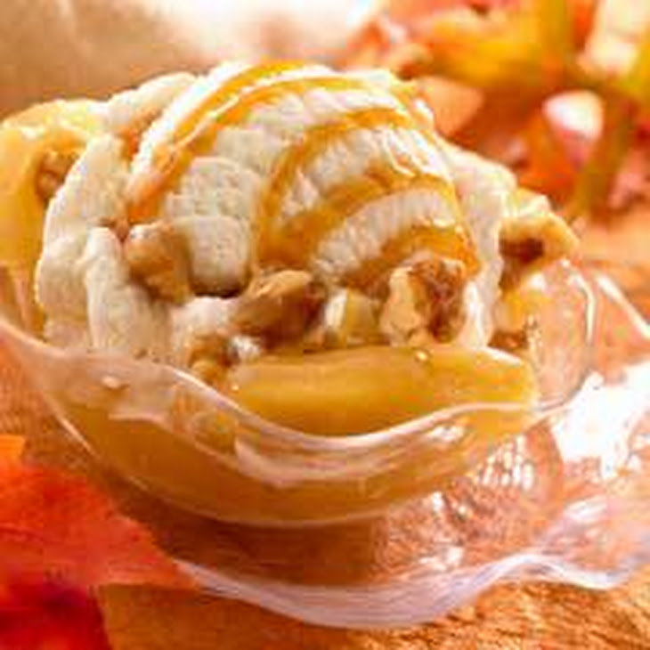 Caramel Apple Walnut Sundaes Recipe | Yummly