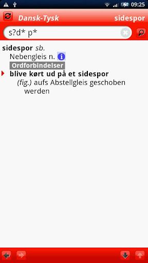 Tysk Mini ordbog
