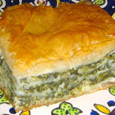 My Big Fat Greek Spinach Pie