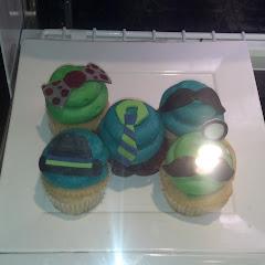 Movember Cupcakes