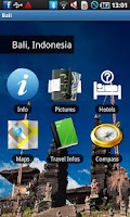 Screenshot of Bali Travel Guide