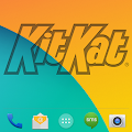 Free Download KitKat HD - Apex Theme APK for Samsung