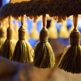 Tassels by Monique Littlejohn - Artistic Objects Other Objects ( yellow tassels, tassels )