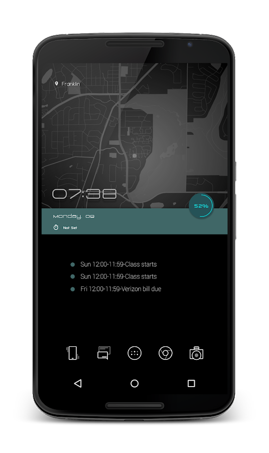 RezeN for Klwp Screenshot