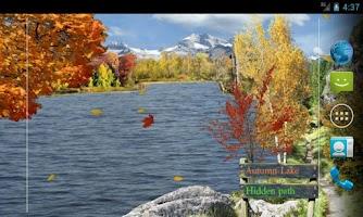 Screenshot of Seasons Live Wallpaper Pro