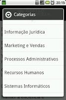 Screenshot of Gestão de Empresas