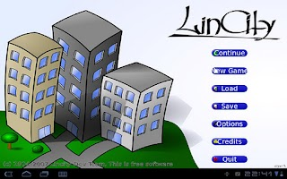 Screenshot of Lincity4droid