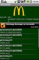 Screenshot of Macdo and Quick