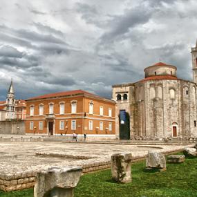 SV. DONAT by Zeljko Sajko-Saja - Buildings & Architecture Public & Historical ( povjest, croatia, staro, zgrada, javni )