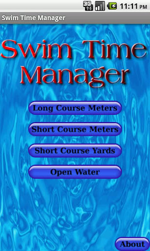 Swim Time Manager