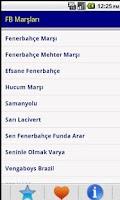 Screenshot of Fenerbahçe Marşları