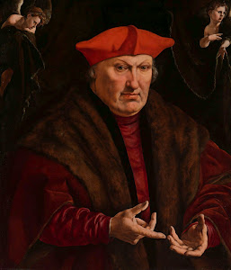 RIJKS: Jan Cornelisz. Vermeyen: Portrait of Erard de la Marck 1530