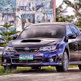 Subby STI by Ferdinand Ludo - Transportation Automobiles ( wrx-blue, balamban, west 35, awesome car, sti )