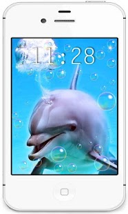 Dolphins Racihg live wallpaper - screenshot