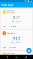 Screenshot of Shutter Count
