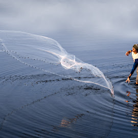 Fisherman by Ade Irgha - People Portraits of Men ( #adeirgha_photoworkz )