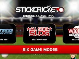 Screenshot of Stick Cricket