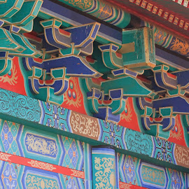 Chinese Temple by Dirk Luus - Buildings & Architecture Other Exteriors ( temple, building, detail, exterior, chinese )