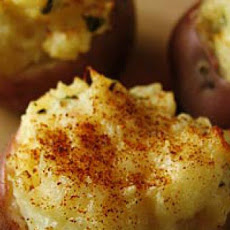 Stuffed Red Bliss Potatoes