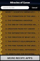 Screenshot of Miracles of Quran (Islam)