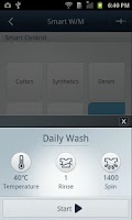 Screenshot of SAMSUNG Smart Washer/Dryer