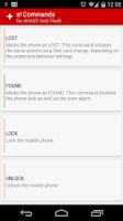 Screenshot of a! Commands