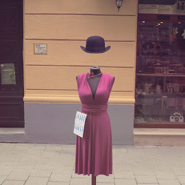 Dress & hat by Andrei Stan - Artistic Objects Clothing & Accessories ( path, nature, landscape )