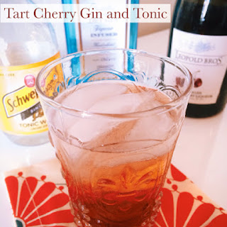 Tart Cherry Gin and Tonic