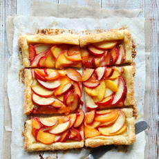 Easy Stone Fruit Tart
