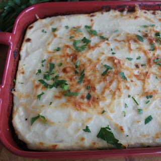 Shepherd's Pie with a Twist! Low Carb/GF/Freezer Friendly