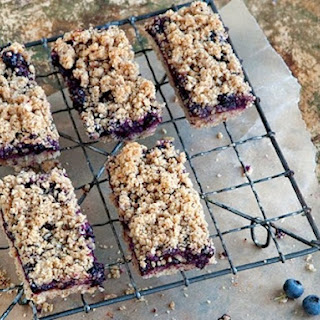 Blueberry Breakfast Bars From 'Whole-Grain Mornings'