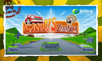 Screenshot of Car vs Zombies