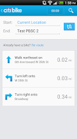 Screenshot of Citi Bike NYC