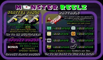 Screenshot of MonsterReelz Free Slot Machine