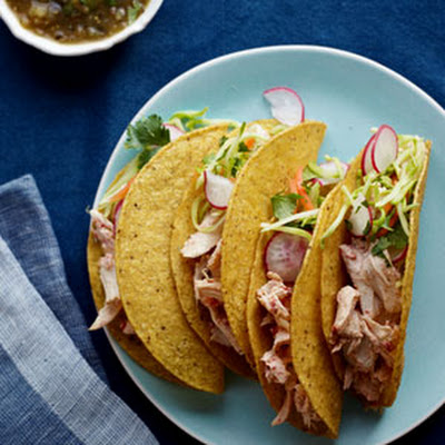 Adobo-Lime Chicken Tacos