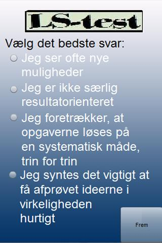 LæringsstilsTest Dansk