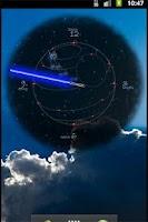 Screenshot of JediClock - Blue