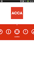 Screenshot of ACCA Student Planner