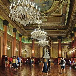 palais des rois de Sarde by Victor Eliu - Buildings & Architecture Office Buildings & Hotels ( interior, prefecture, nice, france, architecture, palace,  )