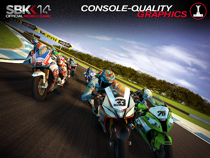 SBK14 Official Mobile Game Screenshot
