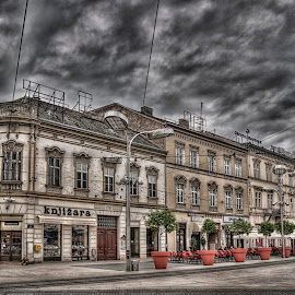 by Dragan Duric - City,  Street & Park  Historic Districts ( hdr, osijek, street )
