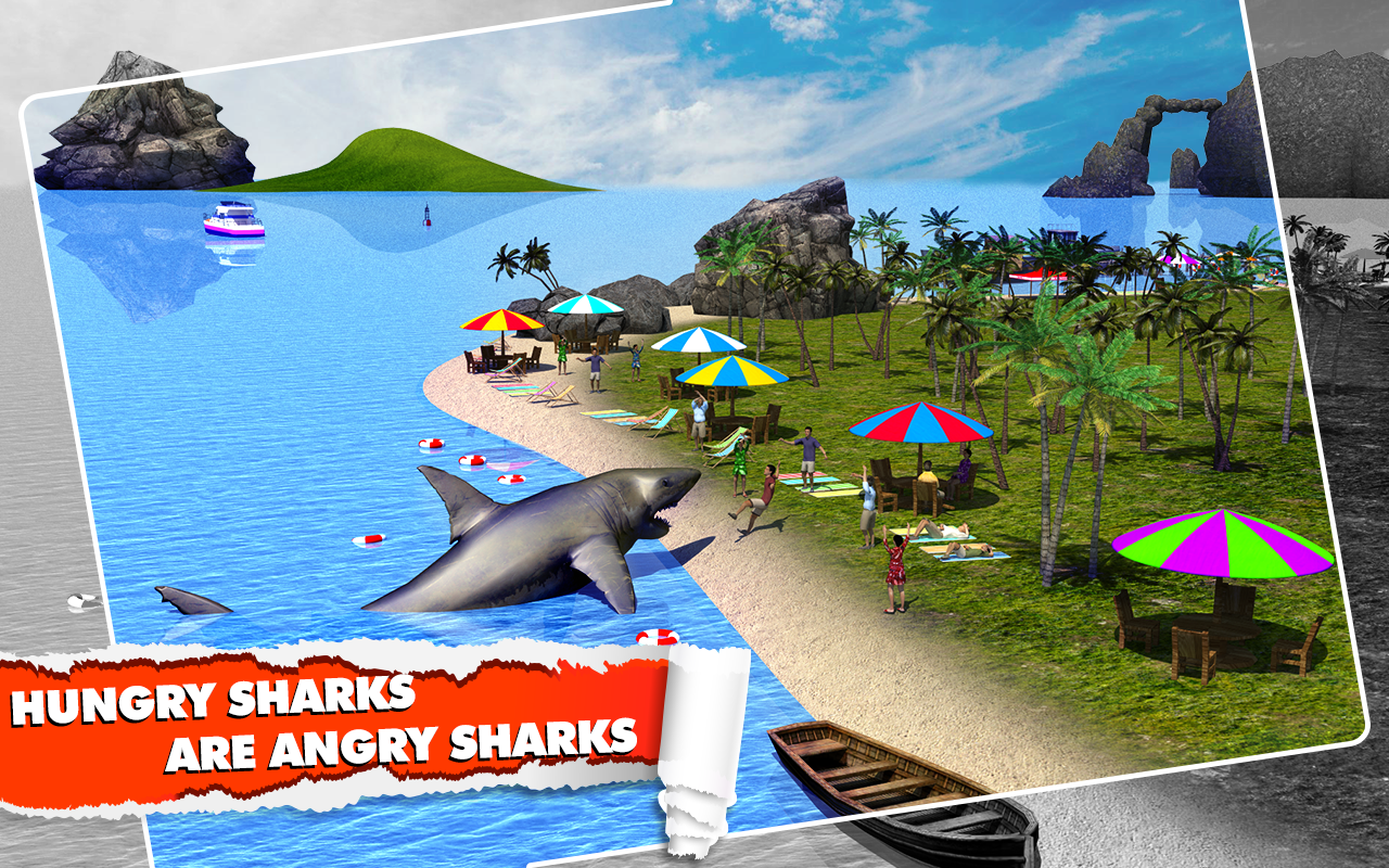 Angry Shark Simulator 3D Screenshot 6