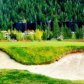 Squaw Valley Resort by Samantha Linn - Sports & Fitness Golf