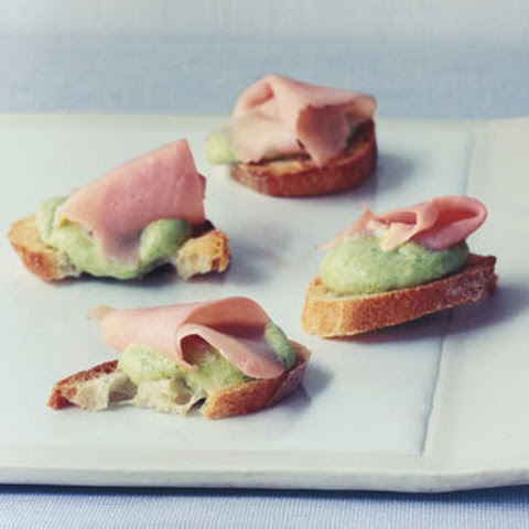 Sweet-Pea Canapes