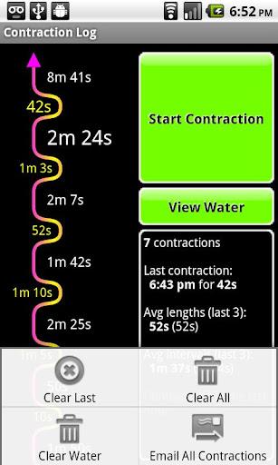 【免費醫療App】Contraction Log and Timer-APP點子