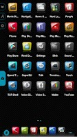 Screenshot of BigDX Slick Launcher Theme