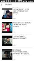 Screenshot of Sistar (KPOP) Club