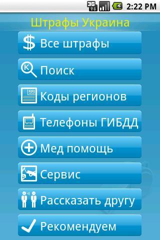 Штрафы ПДД Украина